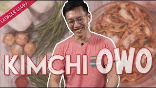 OPPA RECREATES HIS MUM'S HOMEMADE KIMCHI | Eatbook Vlogs | EP 112