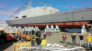 LCS 7 Detroit launch Marinette marine