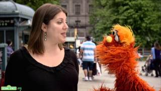 Sesame Street: Word on the Street - Reporter