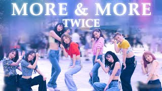 [KPOP IN PUBLIC JAPAN] MORE & MORE / TWICE dance cover 踊ってみた