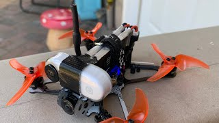 Backyard FPV- Insta360 Go duct taped to a Tinyhawk Freestyle 2