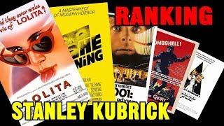 Ranking Stanley Kubrick