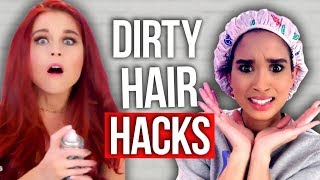 7 Ways to Clean Your Hair Without Showering (Beauty Break)