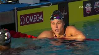 Gold Medalist Simone Manuel Wins 100m Freestyle Final | Summer Champions Series