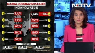 India Crosses 2.35 Lakh Coronavirus Cases, Overtakes Italy For 6th Spot - Download this Video in MP3, M4A, WEBM, MP4, 3GP