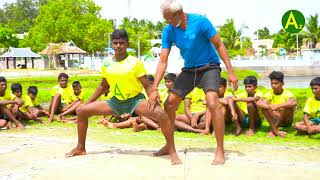 Kabaddi skills- raiding- crossing the baulk line and bonus line