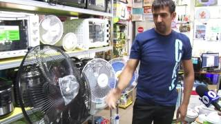 Вентилятор DOMOTEC 3в1 Model: MS1622 от компании Сундук - видео