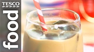 How to make iced coffee with ice cubes