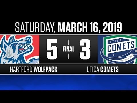 Wolf Pack vs. Comets | Mar. 16, 2019