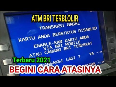 CARA MEMBUKA BLOKIR KARTU ATM BRI GARA-GARA SALAH PIN DI BANK TERDEKAT