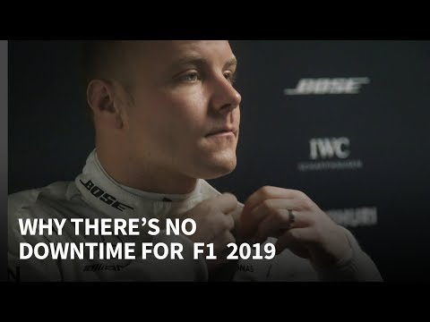 Why there's no downtime for F1 2019