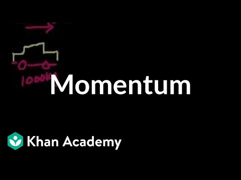 Introduction to momentum (video) | Khan Academy
