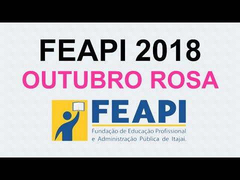 FEAPI no Outubro Rosa 2018
