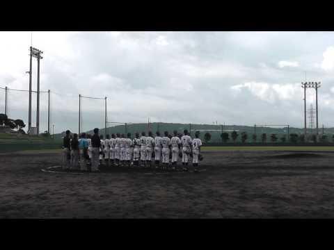 東風平中学校野球部 2015年中体連 準々決勝 2