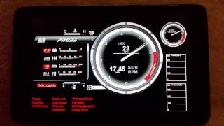 Tunerstudio custom dash for my Ford Probe
