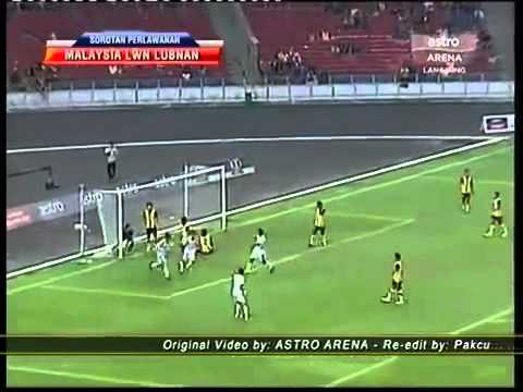 ‪Malaysia Vs Lubnan (2-1) [ Olympic 2012 Qualifier ]