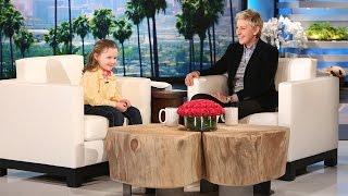 Ellen Meets Macey Hensley