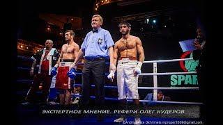 Главный рефери Украины Олег Кудеров. О работе судьи в ринге