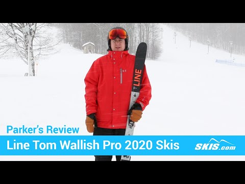 Video: Line Tom Wallisch Pro Skis 2020 16 50