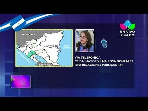 Policía Nacional informa sobre captura del terrorista Medardo Mairena