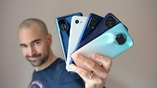 Best Phones Under £300 (Early 2021) - Top 10 Budget Choices