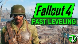 FALLOUT 4: How To Level Up REALLY FAST in Fallout 4! (Idiot Savant and Intelligence) - dooclip.me