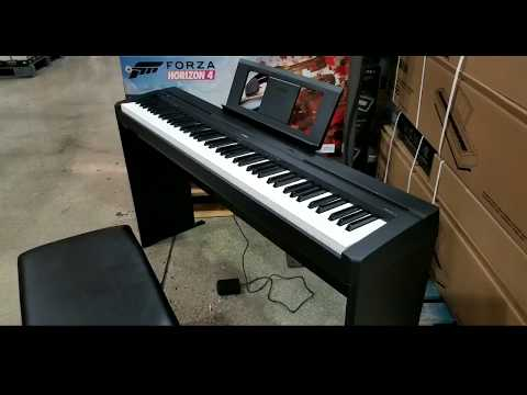 Yamaha P45 Digital Piano Costco : costco yamaha p45 blb2 88 key digital piano 499 sterling wong lifestyle food travel ~ Russianpoet.info Haus und Dekorationen