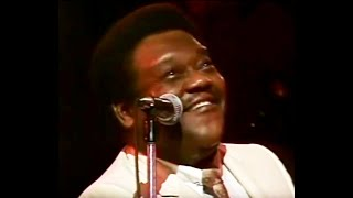 Fats Domino at Expo 86: Blueberry Hill, I'm Walkin', Valley of Tears.