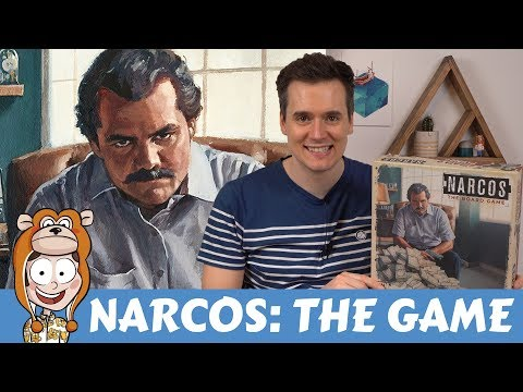 Narcos: The Board Game Overview and Impressions - Actualol