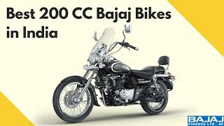 What are the Best 200CC Bajaj Bikes in India?
