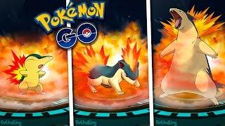 Typhlosion  - (Pokémon) - LA MEJOR EVOLUCIÓN DE CYNDAQUIL QUILAVA TYPHLOSION!! POKEMON GO - DOTHAKING115