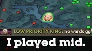 LONG STORY SHORT: I played mid.