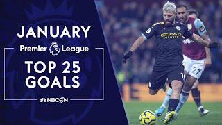 Top 25 Premier League goals in January 2020 | NBC Sports