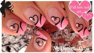 Heart Nail Art Designs