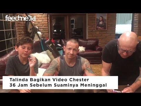 Video 36 Jam Sebelum Kematian Chester Bennington Terungkap!