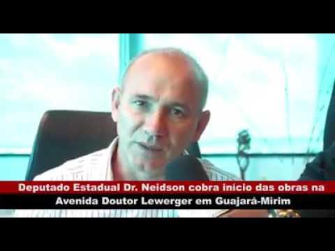 VÍDEO: DR. NEIDSON COBRA INÍCIO DAS OBRAS NA AVENIDA DOUTOR LEWERGER EM GUAJARÁ-MIRIM