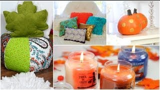 Easy ways to decorate your room for Fall! + How to make it cozy