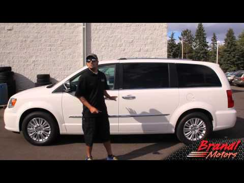 2013 Chrysler Town and Country Limited- Brandl Media Minute- 09-28-12