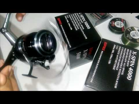 Rapala X-Spin 4000 VS 5000 | Unboxing | Pros And Cons | Fishing Reel REVIEW! | Raptor Fishing Tackle