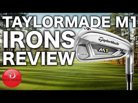 NEW TAYLORMADE M1 IRONS REVIEW