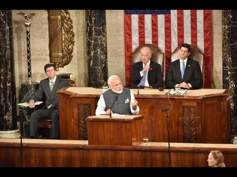 PM Modi's address at the Joint Meeting of U.S Congress in Washington DC