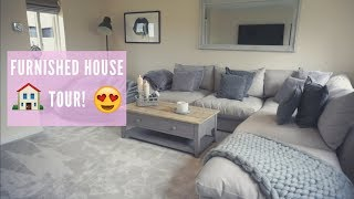 FURNISHED HOUSE TOUR!! 😍🏡