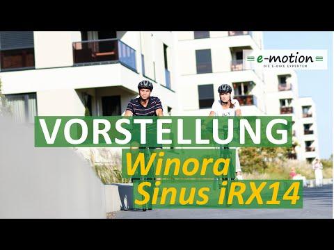 Winora e-Bike Vorstellung 2019 | Sinus iRX14