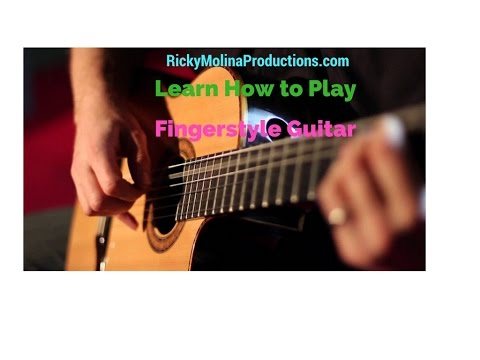 Tips and Exercises for Learning Fingerpicking and Fingerstyle Guitar