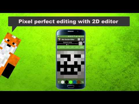 Video of Skin Editor Tool for Minecraft