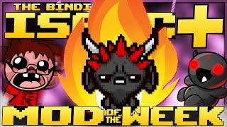 The Binding of Isaac: Afterbirth+ - Mod of the Week: GENESIS+ DEMONIC DESCENT! (Overhaul)