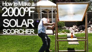 How to get 2000ºF Solar Power