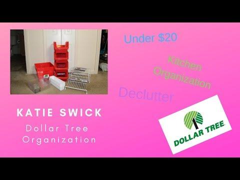Dollar Tree Kitchen Organization