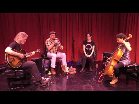 Joe Morris, Tomeka Reid, Kyoko Kitamura, Taylor Ho Bynum  @ The Stone at the New School 5-23-18 2/2 online metal music video by TOMEKA REID