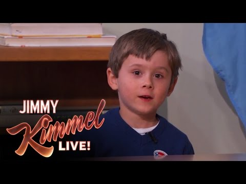 Five Year Old Genius Arden Hayes on Jimmy Kimmel Live